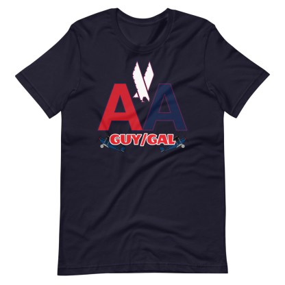 airplaneTees CUSTOM AA Tee, American Guy/Gal Tee Short-Sleeve Unisex 9
