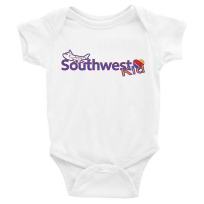 airplaneTees Southwest Kid Onesie... Rabbit Skins... Infant Bodysuit 4