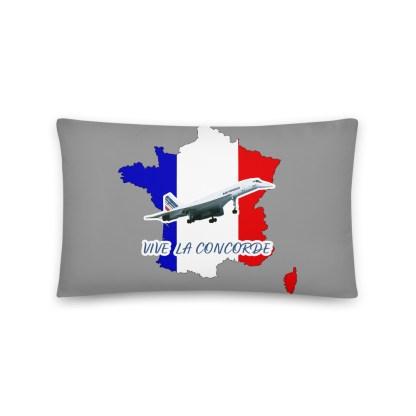 airplaneTees Vive La Concorde Pillow 2