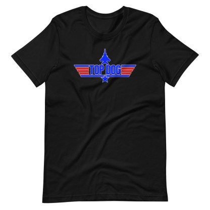 airplaneTees Top Dog tee... Short-Sleeve Unisex 9