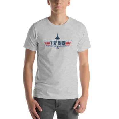 airplaneTees TOP DAD Tee(weathered look)... Short-Sleeve Unisex 2