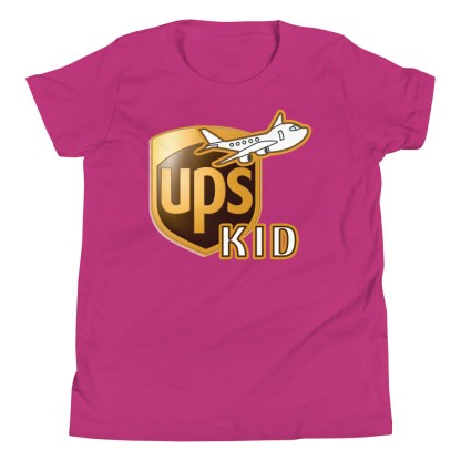 airplaneTees UPS Kid Youth Tee... Short Sleeve T-Shirt 11