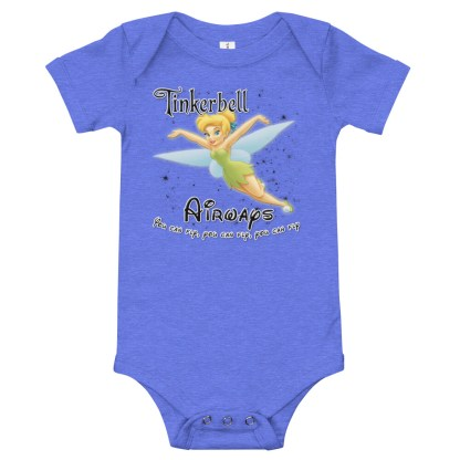 airplaneTees Tinkerbell Airways Onesie 4