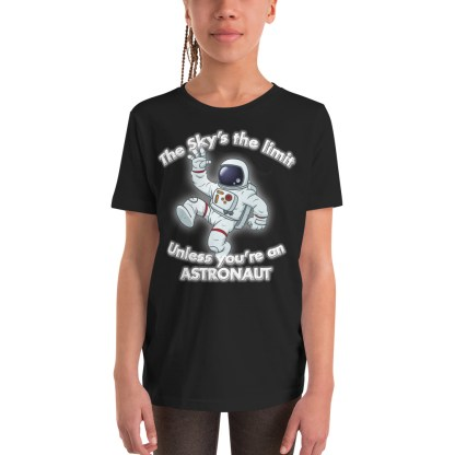 airplaneTees The Sky's the limit tee youth - Option 1... Youth Short Sleeve T-Shirt 2