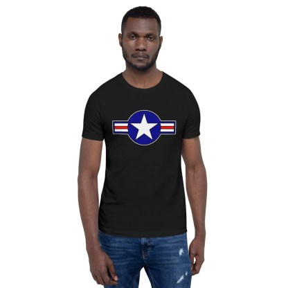 airplaneTees Roundel US Armed Forces Tee... Short-Sleeve Unisex 5