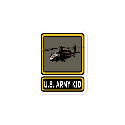 airplaneTees US Army Kid Stickers... Bubble-free 4