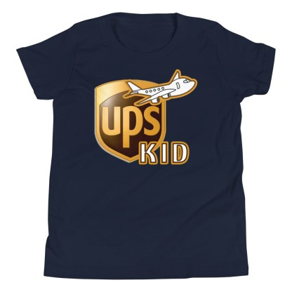 airplaneTees UPS Kid Youth Tee... Short Sleeve T-Shirt 5