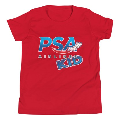airplaneTees PSA Airlines Kid youth tee... Short Sleeve 1