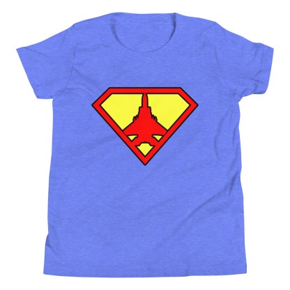 airplaneTees Super Fighter Pilot Youth Tee... Short Sleeve 5