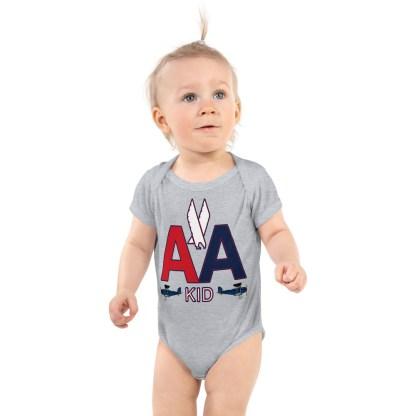 airplaneTees American Kid Onesie Rabbit Skins... Infant Bodysuit 2