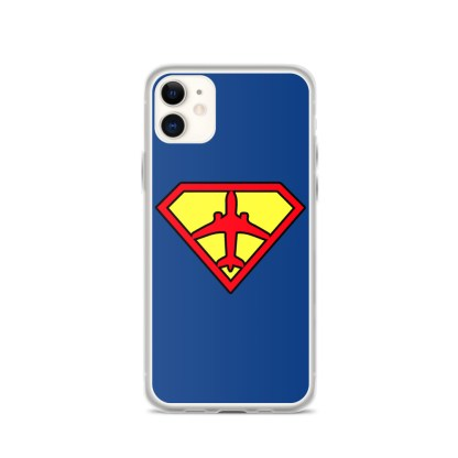 airplaneTees Superpilot iPhone Case 2