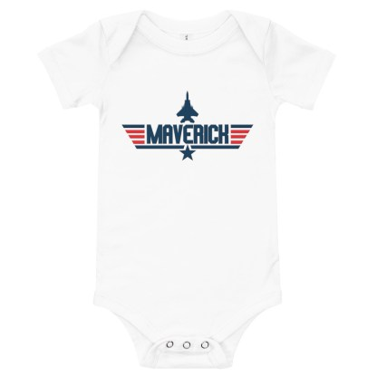 airplaneTees Maverick Onesie 5
