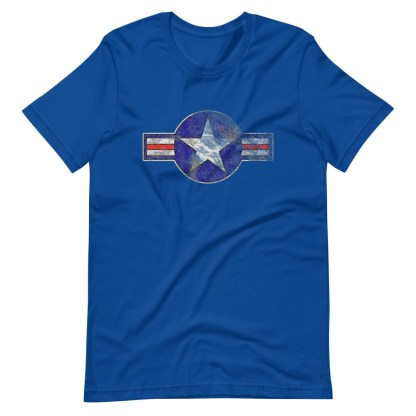 airplaneTees Roundel US Armed Forces tee weathered...Short-Sleeve Unisex T-Shirt 10