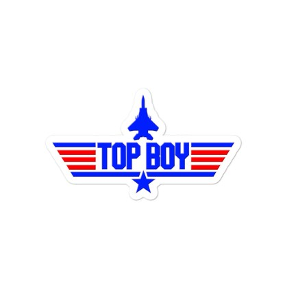 airplaneTees Top Boy stickers... Bubble-free 3