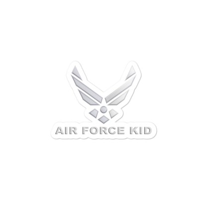 airplaneTees US Air Force Kid Stickers... Bubble-free 4