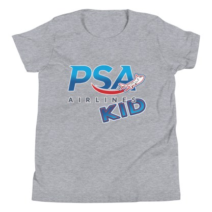 airplaneTees PSA Airlines Kid youth tee... Short Sleeve 8