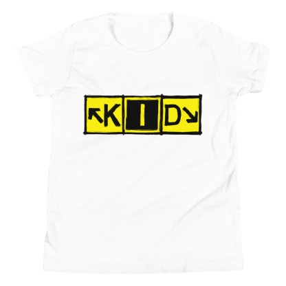 airplaneTees KID Taxiway Art Tee... Youth Short Sleeve T-Shirt 9