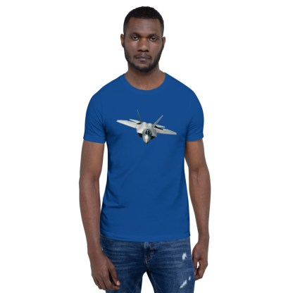 airplaneTees F22 Front View... Short-Sleeve Unisex T-Shirt 2