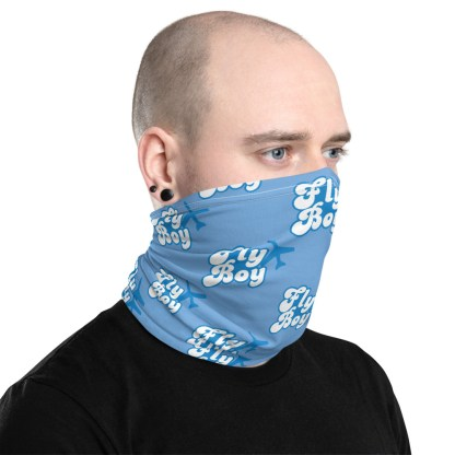 airplaneTees Fly Boy Face Mask/Face Covering/Neck Gaiter 2
