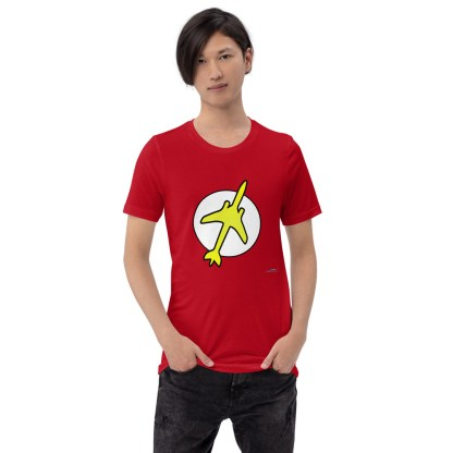 airplaneTees The Pilot Flash Tee... Short-Sleeve Unisex T-Shirt 3