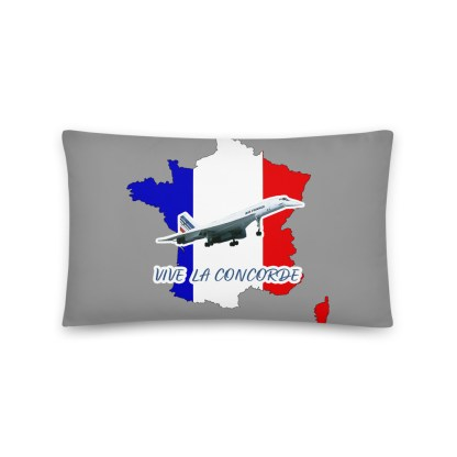 airplaneTees Vive La Concorde Pillow 3