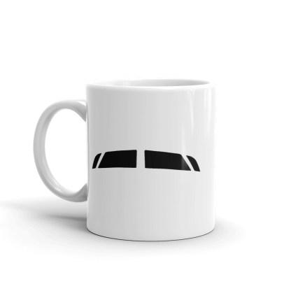 airplaneTees Bombardier CRJ900 Cockpit Windows Mug 3