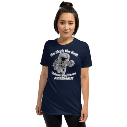airplaneTees The Sky's the limit tee - Option 2... Short-Sleeve Unisex 5