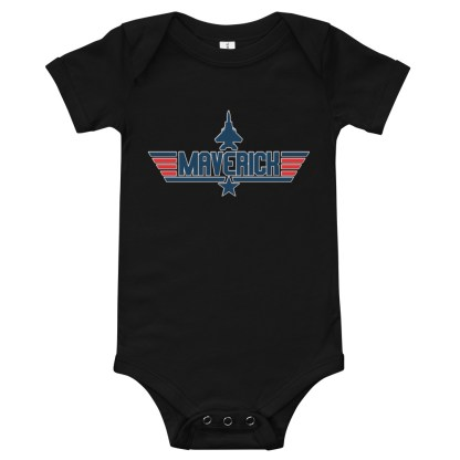 airplaneTees Maverick Onesie 3