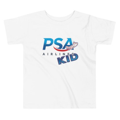 airplaneTees PSA Airlines Kid toddler tee... Short Sleeve 5