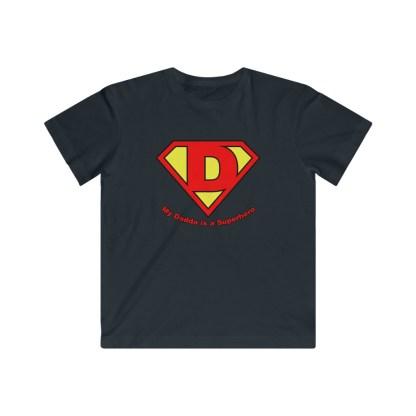 airplaneTees My Dadda is a Superhero Tee - Kids Fine Jersey 4