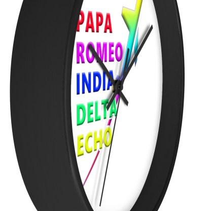 airplaneTees PRIDE Wall clock 5
