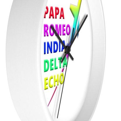 airplaneTees PRIDE Wall clock 2