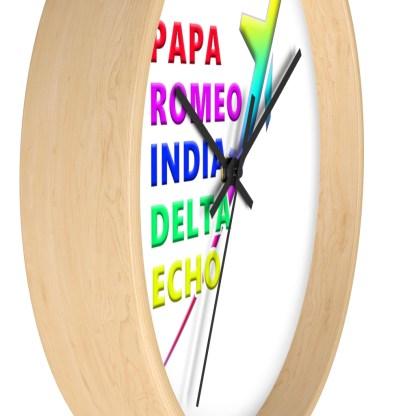 airplaneTees PRIDE Wall clock 14