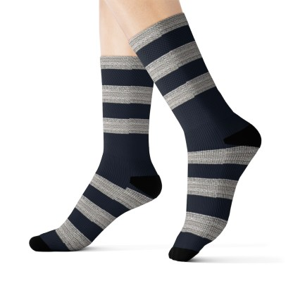 airplaneTees American Airlines Captain socks - Sublimation 8