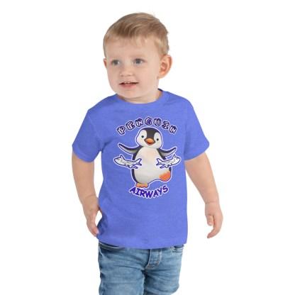 airplaneTees Penguin Airways Tee... Toddler Short Sleeve 2