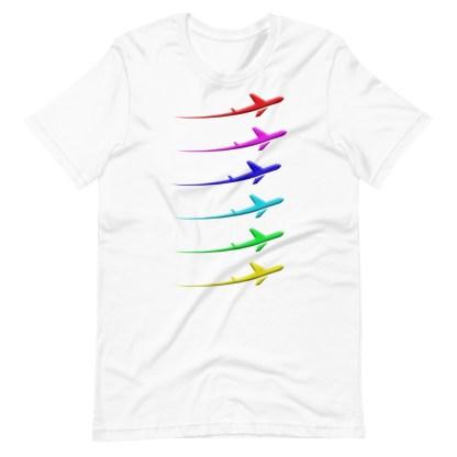 airplaneTees Pride Streak Tee - Short-Sleeve Unisex 6