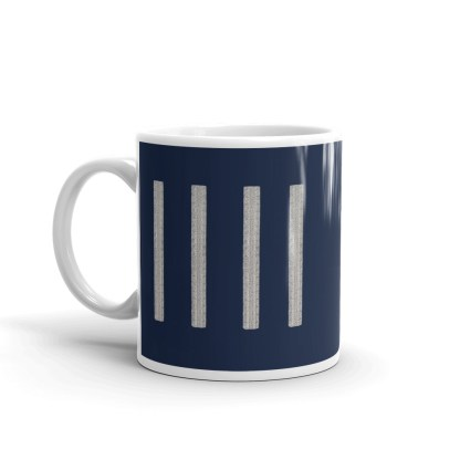 airplaneTees United Airlines Captain Coffee Mug 3