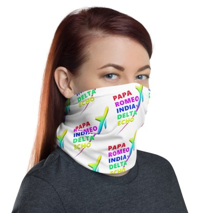 airplaneTees PRIDE Face Mask/Face Covering/Neck Gaiter 1