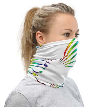airplaneTees Flight Path of Pride Face Mask/Face Covering/Neck Gaiter 3