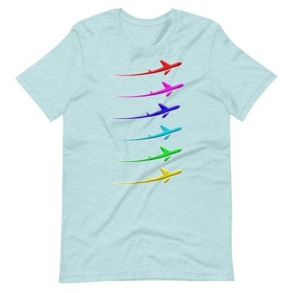 airplaneTees Pride Streak Tee - Short-Sleeve Unisex 1