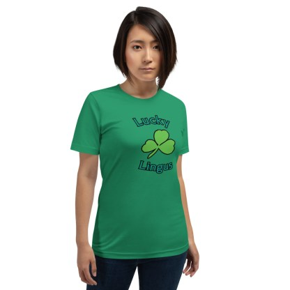 airplaneTees Lucky Lingus Tee Short-Sleeve Unisex 4