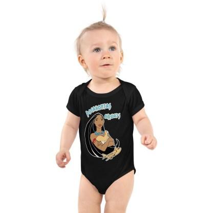 airplaneTees Pocahontas Airways Onesie... Infant Bodysuit 2