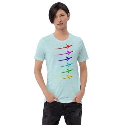 airplaneTees Pride Streak Tee - Short-Sleeve Unisex 3