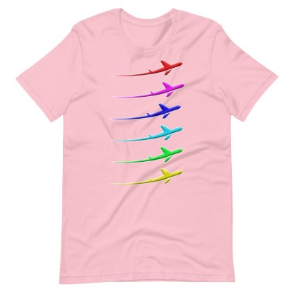 airplaneTees Pride Streak Tee - Short-Sleeve Unisex 16