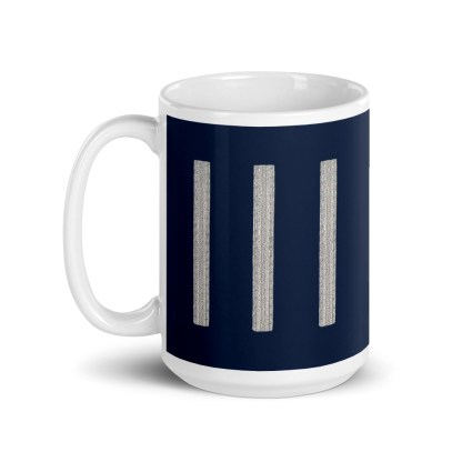 airplaneTees United Airlines First Officer Coffee Mug 1