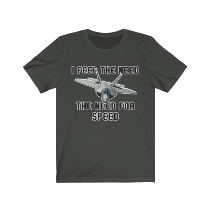 airplaneTees I feel the need the need for speed tee - Unisex Jersey Short Sleeve 6