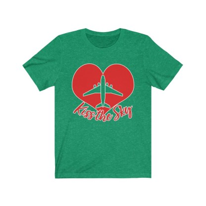 airplaneTees Kiss the Sky - Unisex Jersey Short Sleeve Tee 5