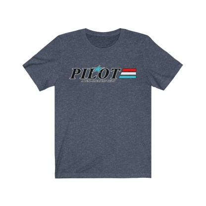 airplaneTees GI Pilot Tee - Unisex Jersey Short Sleeve 1