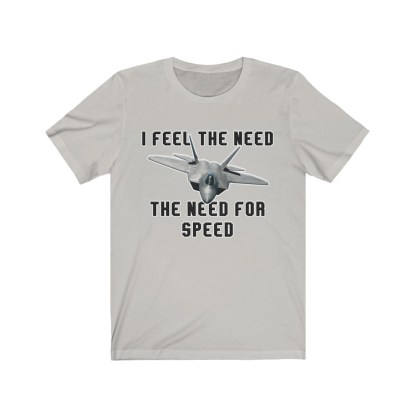 airplaneTees I feel the need the need for speed tee - Unisex Jersey Short Sleeve 5