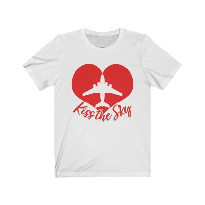 airplaneTees Kiss the Sky - Unisex Jersey Short Sleeve Tee 2